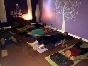 Studio Pleinement Yoga - Guerina Pellizzi - Savasana